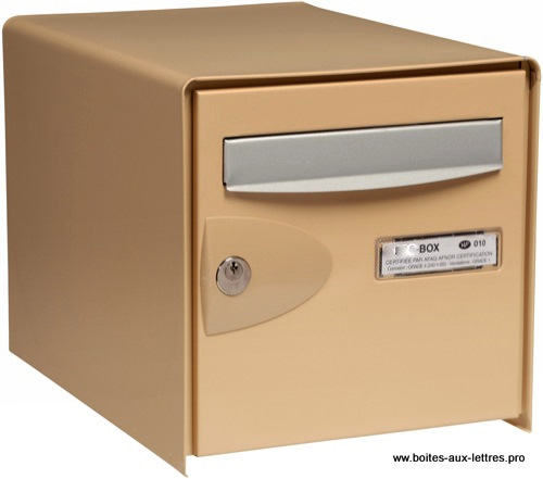 boites aux lettres individuelle usage ext rieure. Black Bedroom Furniture Sets. Home Design Ideas