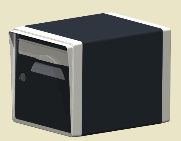 boite a lettre individuelle ext rieure normalis e prix boites aux lettres bord de mer. Black Bedroom Furniture Sets. Home Design Ideas