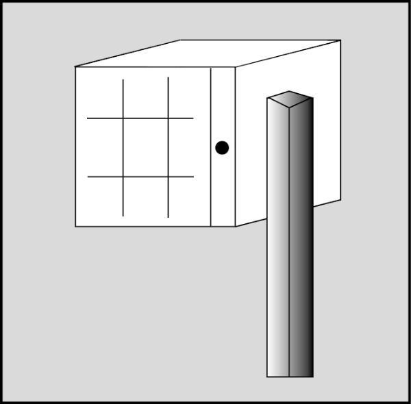 pied boites aux lettres individuelle escale. Black Bedroom Furniture Sets. Home Design Ideas