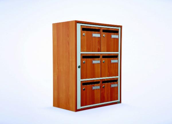 Boite Aux Lettres En Bois A Decorer : aux lettres en bois massif, norme Poste individuelle, boite a lettre